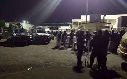 Messico, rivolta in prigione: uccisi sette poliziotti