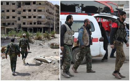Siria, gli ultimi ribelli lasciano Ghouta