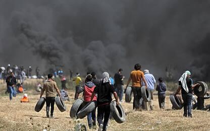 Nuovi scontri a Gaza, nove palestinesi morti e oltre mille feriti