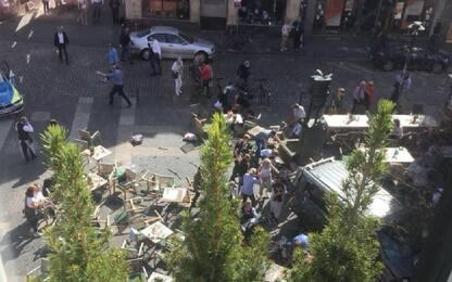 """Furgone su folla in Germania, testimone a Sky TG24: """"Siamo scioccati"""""""