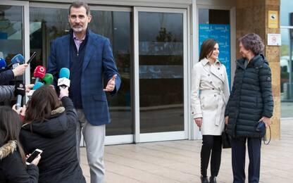 Reali Spagna, Letizia e Sofia fanno pace