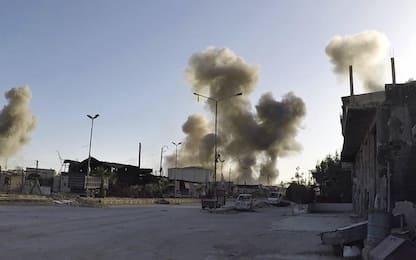 """Siria, Trump a Russia: """"Arrivano missili"""". Mosca: sparino a terroristi"""