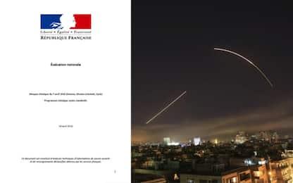 Raid in Siria, Parigi: ecco le prove dell'attacco chimico a Douma