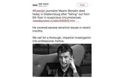 Russia, giornalista muore cadendo dal balcone: indagava su mercenari