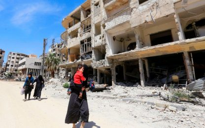 Attacco in Siria, ispettori Opac a Duma: trovata una fossa comune