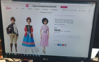 Messico, vietata la vendita di Barbie-Frida Kahlo
