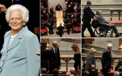 Usa, i funerali di Barbara Bush