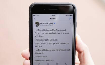 Gli annunci per il terzo royal baby