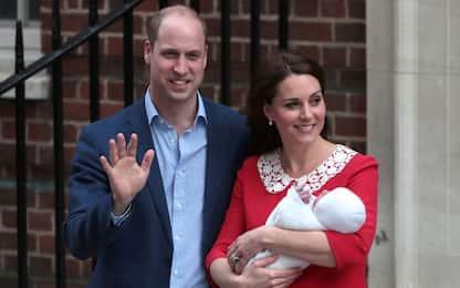 Royal baby, è nato il terzo figlio di Kate e William: è un maschio