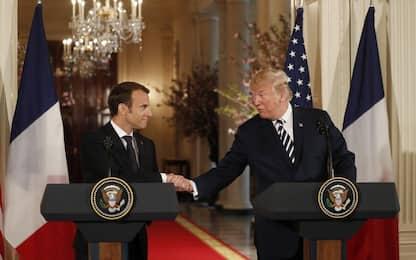Asse Trump-Macron alla Casa Bianca, ma resta il nodo Iran