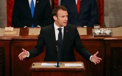 """Macron: """"Iran non avrà mai armi nucleari, accordo va completato"""""""