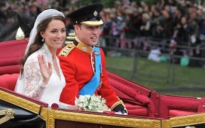 William e Kate, 7 anni fa il matrimonio