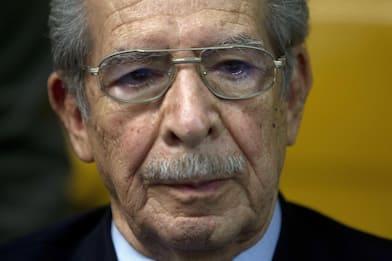 Guatemala, è morto l'ex dittatore Efrain Rios Montt