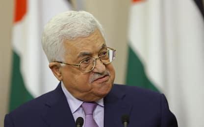 """Abu Mazen si scusa per frasi su ebrei: """"Condanno antisemitismo"""""""