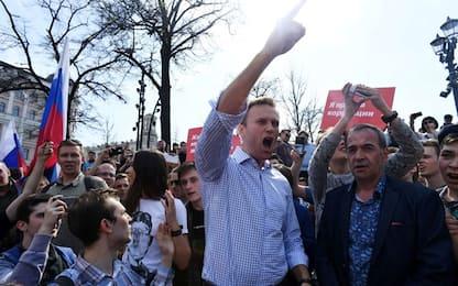 Proteste contro Putin: fermato Navalny