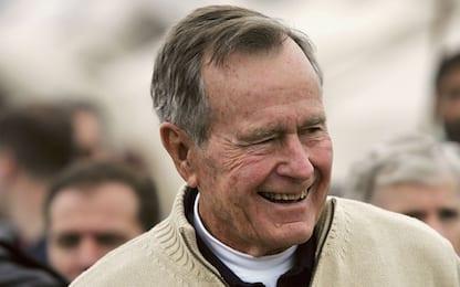 George Bush Senior è stato dimesso dall'ospedale di Houston