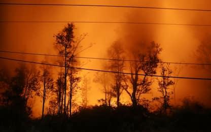 Hawaii, esploso il vulcano Kilauea. FOTO