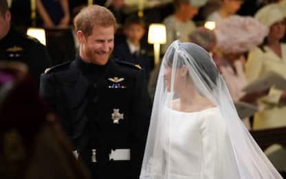 """Matrimonio Harry e Meghan: il momento del """"sì"""". VIDEO"""