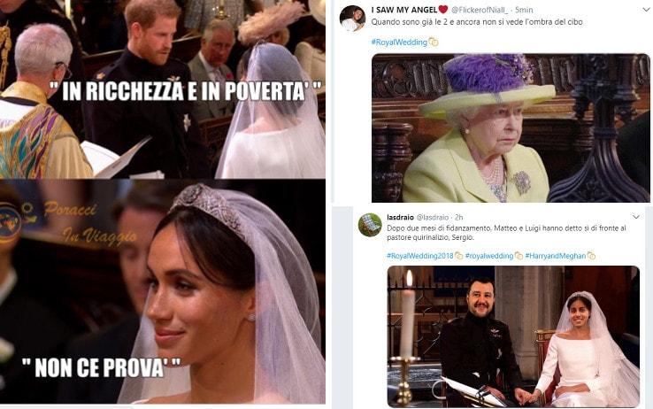 Royal wedding, l'ironia sui social sul matrimonio tra Harry e Meghan   Sky  TG24