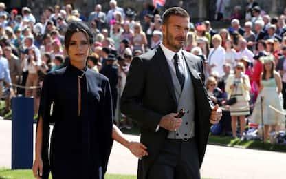 I Beckham donano in beneficenza i vestiti del Royal Wedding