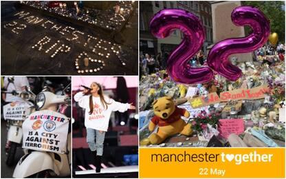 Manchester, un anno fa l'attentato al concerto di Ariana Grande