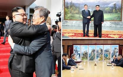 Coree, nuovo incontro tra Kim e Moon al confine