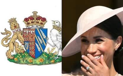 Meghan Markle, ecco lo stemma ufficiale della duchessa di Sussex