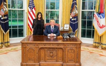 Kim Kardashian incontra Trump per chiedere la libertà di una detenuta