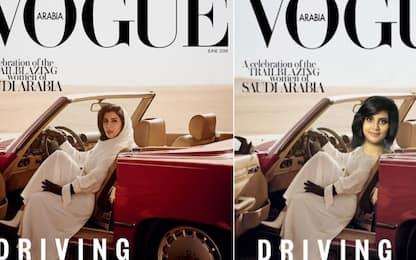 Vogue Arabia, principessa alla guida in copertina. Proteste sui social
