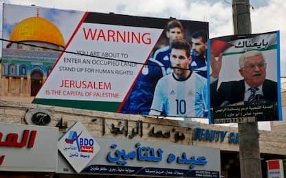 Argentina cancella partita contro Israele dopo proteste palestinesi