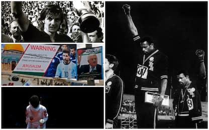 Sport e politica: tra proteste, dimostrazioni e boicottaggi