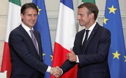 """Incontro Conte-Macron a Parigi: """"Regolamento Dublino deve cambiare"""""""