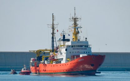 """Migranti, Msf: """"Nave Aquarius costretta a chiudere la sua attività"""""""