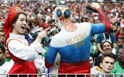Esultanze Mondiali: i tifosi in Russia