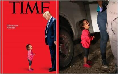 Famiglie di migranti separate, Trump nella copertina-denuncia del Time