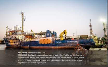 Migranti, Seawatch: nostra nave sottoposta a fermo a Malta
