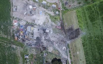 Messico, esplosione in deposito fuochi d'artificio: vittime