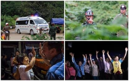 Thailandia, salvi ragazzi e allenatore