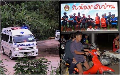 Thailandia, ragazzi salvati dimagriti ma coscienti e capaci di parlare