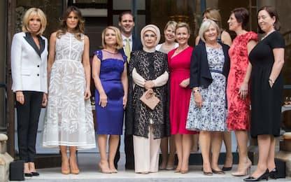 Le donne dei leader Nato a Bruxelles