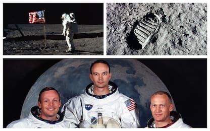 Il 20 luglio di 49 anni fa l'uomo mise piede sulla Luna