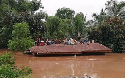 Laos: crolla diga idroelettrica, morti, feriti e migliaia di sfollati