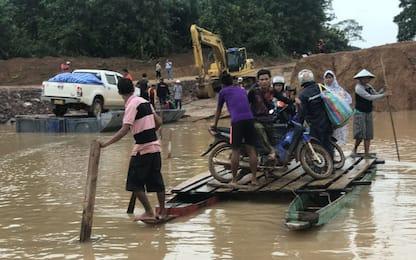I soccorsi in Laos