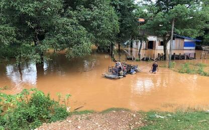 Laos, 20 morti e almeno 100 dispersi dopo il crollo della diga