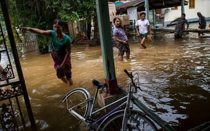 Myanmar inondazioni FOTO