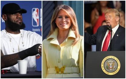 LeBron James contro Trump, Melania si schiera con il campione Nba