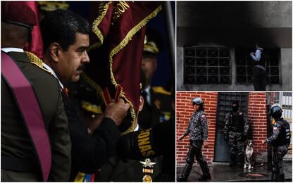Venezuela, fallito attentato con droni esplosivi contro Maduro. FOTO