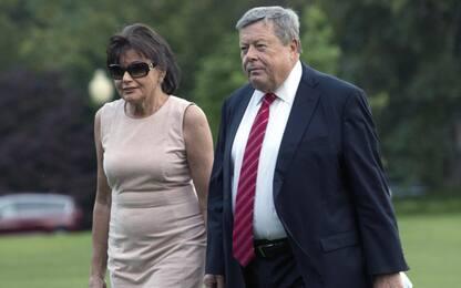 I genitori di Melania Trump sono diventati cittadini americani