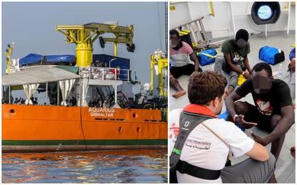 Migranti su Aquarius, no all'accoglienza da Italia, Malta e Spagna