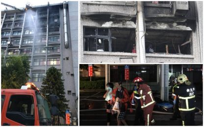Taiwan, incendio in ospedale: almeno 14 morti e 20 feriti
